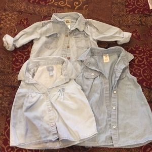Other - Chambray Shirts 24 months
